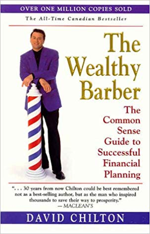 Cover of a book called The Wealthy Barber, by David Chilton
