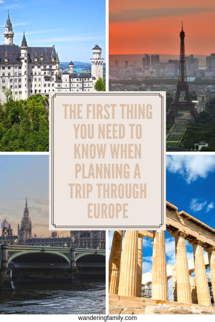 The first thing you need to know when planning a trip through Europe - how long can you stay?  And how might you stay longer and maximize your mobility? #europetravel #schengen
